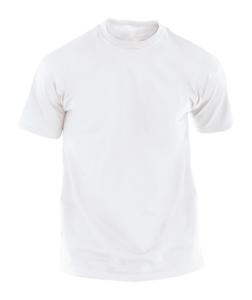 Promotivna bijela majica kratkih rukava
